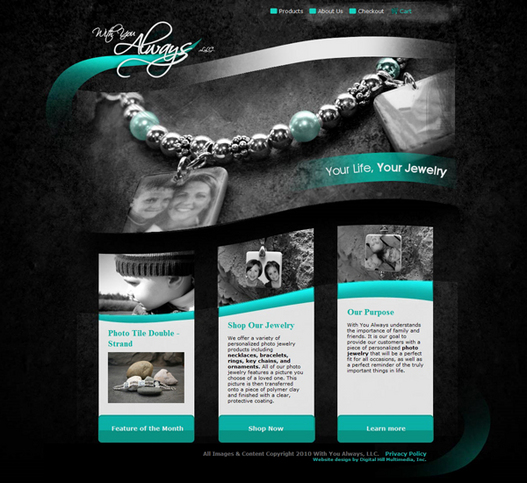 With You Always LLC Launches New Digital Hill Ecommerce Website