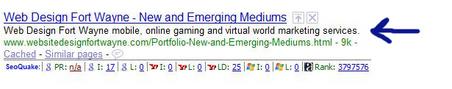 Meta Description Google