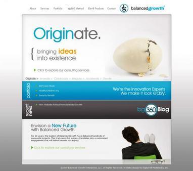 Balanced Growth Website - Chicago Website Design